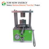 18650本のシリンダーセルのためのコンパクトな油圧シーリング機械