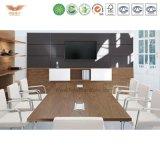 現代流行の設計事務所の家具のメラミン形の会合表