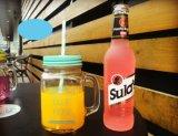Customed stellte leere trinkende Maurer-Glasgläser mit Griff her