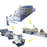 Garantía de China para la máquina de Thermoforming del rectángulo del alimento de la espuma del picosegundo
