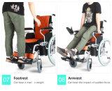 2017 ذكيّ [هي برفورمنس] [ترنيست] [فولدبل] ألومنيوم [إلكتريك بوور] محرّك كرسيّ ذو عجلات