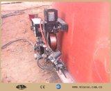 タンク底およびコーナーの版のための自動溶接機械
