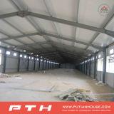 Proyecto en almacén prefabricado de la estructura de acero de Moldova