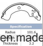 日産K1247のための高品質のディスクブレーキの靴