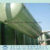 Alta calidad de depósito de almacenamiento de ácido de la FRP GRP