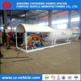 Schienen-Station 5tons Nigeria-LPG/10000liters/10m3 LPG Gas-Zylinder-Tankstelle