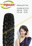 최고 상표 중국 기관자전차 타이어 (110/90-16)