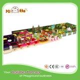 Cour de jeu d'intérieur modulaire d'enfants pour le supermarché