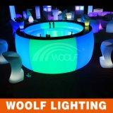Tabla hotel restaurante LED redonda Barra WF-15115