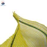 Nettosäcke mit Drawstring Raschel Ineinander greifen-Beuteln für Obst und Gemüse
