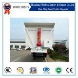 Tri-Axle la parte trasera de 40 metros cúbicos volquete Camión Dumper elevación cilindro hidráulico de remolque basculante