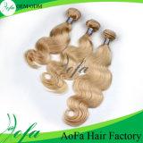 Самый лучший уток человеческих волос ленты качества 7A Unprocessed
