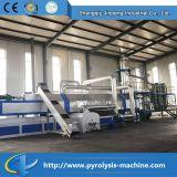 Kontinuierliche automatische Plastikaufbereitenmaschine