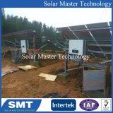 Солнечная панель крепления структуры солнечной системы безрамные зажимы