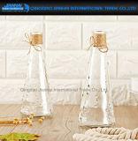 Vaso decorativo do vidro dos electrodomésticos da forma da pirâmide