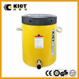 Cilindro hidráulico del alto tonelaje de efecto simple de la marca de fábrica de Kiet de la serie de Clsg