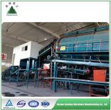 Ordures vertes de gestion des déchets de solution d'énergie triant l'usine
