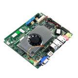 Входной Mainboard Fanless материнской платы индустрии тропки залива Intel миниый с J1900 SSD RAM 2GB 32GB C.P.U. DDR3l бортовым