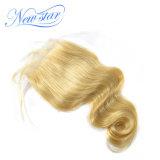 Chiusura dei capelli umani del Virgin del brasiliano dell'onda 613 del corpo