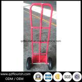 Caminhão de mão de aço da plataforma do metal de duas rodas para o armazenamento