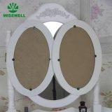 Mdf-Frisierkommode mit dem 3 Falten-Spiegel stellte ein (W-HY-002)