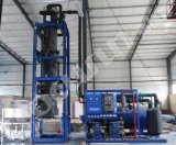 Tube à bon marché la machine à glace avec 10, 000kg