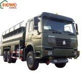 Sinotruk HOWO 6X4のオイルタンクのトラックの熱い販売