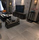 Tamaño 60x60 Azulejo de cuerpo completo de estilo rústico de porcelana suelos de baldosas de pared gris