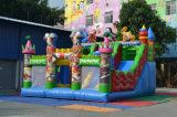 Giochi rimbalzante dei castelli del Bouncer gonfiabile su ordinazione dell'orso per i bambini, 10m a prova di fuoco X 5m