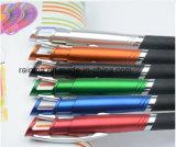 Crayon lecteur en caoutchouc capacitif en plastique multifonctionnel d'aiguille d'extrémité pour la promotion électronique