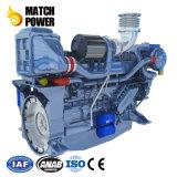Weichai 450HPの海洋エンジン、ディーゼル機関、内国水路出荷、漁業釣およびビジネスボート