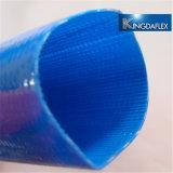10 Slang van de Pomp van het Water van pvc Layflat van de duim van de Diameter de Blauwe Landbouw