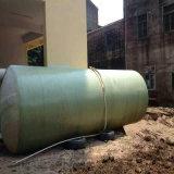 Tanque séptico do tratamento da água da fibra de vidro GRP de FRP