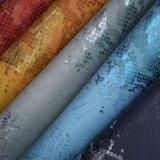 アニマル・スキンの多彩な合成物質PU人工的な袋の靴革