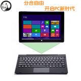 10,1 pouces 2-32G Win10 à quatre coeurs Ftx-W1658 Ordinateur tablette 2-en-1 avec clavier