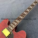 Double F-trous de Jazz de corps creux, guitare électrique dans Cherryburst (TJ-318)