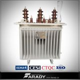 Oil Immersed triphasé 50Hz/60Hz Low Loss Wounded Core Transformer 250 KVAs