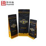 Sacs de café comiques de poche de qualité avec le blocage de tirette/fermeture éclair
