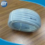 Fibra de poliéster PVC tubo de borracha reforçado trançado com linhas de símbolo