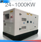 Stamfordの交流発電機と低雑音無声ディーゼル発電機セット75kw/93kVA