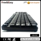 Самый дешевый горячей продавать тонкий 104 Проводная клавиатура USB для настольных ПК