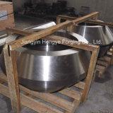 Flange inoxidável frente e verso forjada quente do cilindro de aço