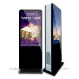 Yashi 55 visualizzazione di pubblicità impermeabile esterna del contrassegno dell'affissione a cristalli liquidi Digitahi dello schermo di tocco di pollice