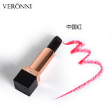 El lápiz labial mate descolorado 3colors negro con estilo más nuevo del lápiz labial de Veronni Rose