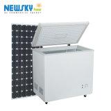 Premier double congélateur simple de poitrine d'énergie solaire de porte