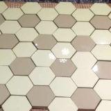Suelo que pavimenta el mosaico de cristal Crystalized nano del azulejo
