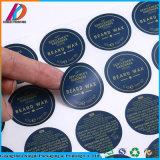 Étiquette de papier Shaped ronde d'impression de collant