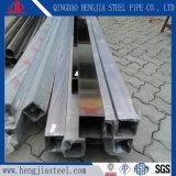 Höhlung galvanisiertes rechteckiges Stahlgefäß mit für Aufbau