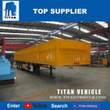 Wellen-seitlicher Vorstand-Flachbett-halb Schlussteil des Titan-3 für Verkauf