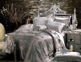 Taihuの雪の絹のOeko-Texの灰色の継ぎ目が無い絹の慰める人セット